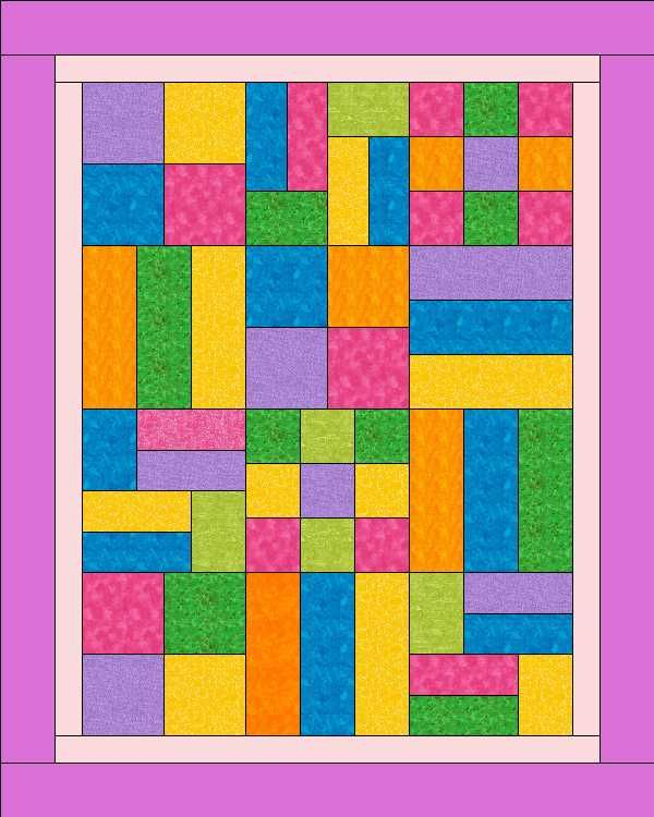 Kid Camp Quilt - Love the bright colors and the pattern