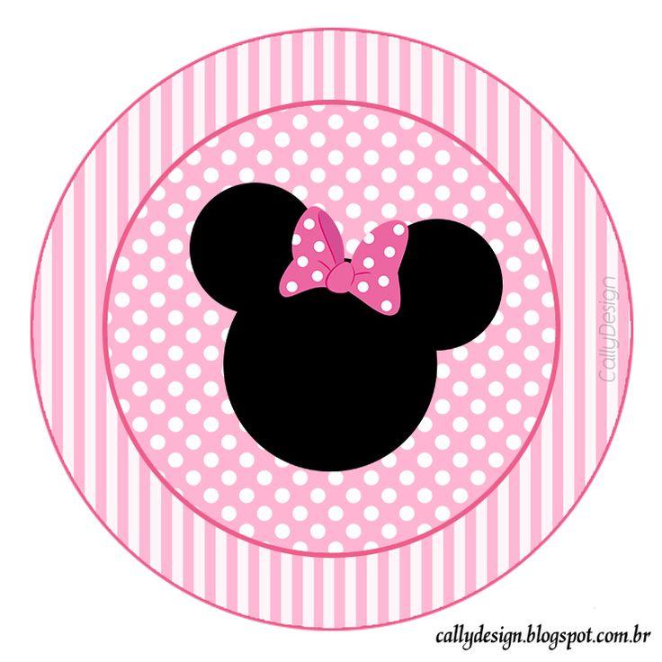 Minnie Mouse Head Border