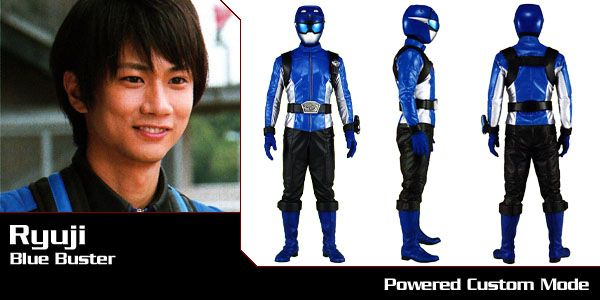Tokumei Sentai Go-Busters - Ryuji (Blue Buster) - Super Sentai Time Capsule