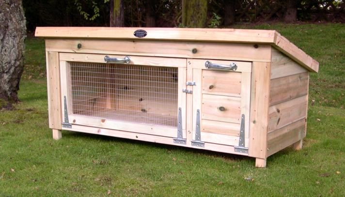 Rabbit hutch plans for meat rabbits woodworking projects for Rabbit hutch designs