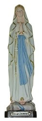 """12"""" Our lady of Lourdes Statue $102.92"""