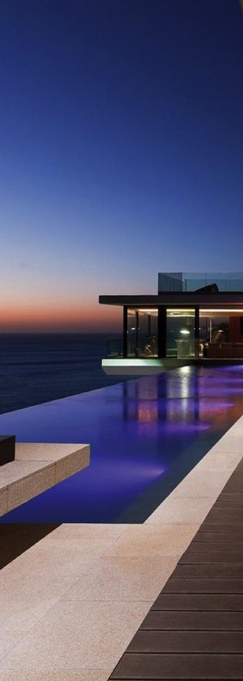 Modern houses by - Infinity Pool View Talks Pinterest