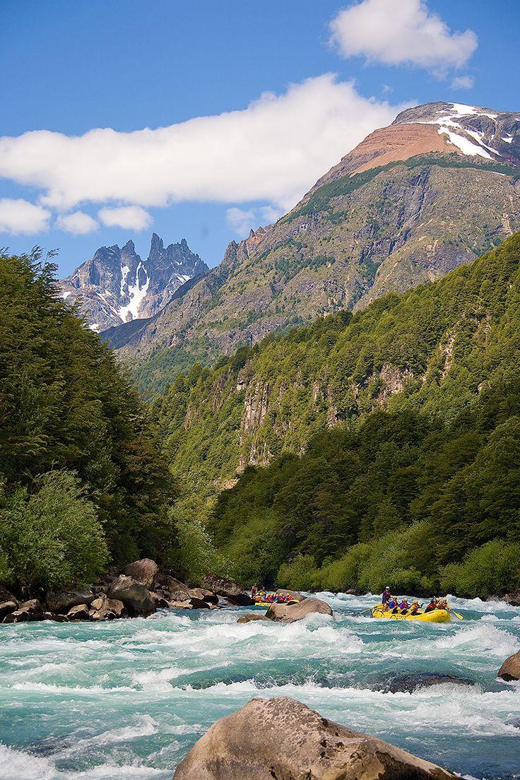 Futaleufu River in Patagonia, Chile