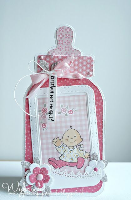 177 best Baby Cards images on Pinterest Baby cards Craft cards