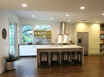 Brentwood Addition midcentury kitchen