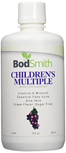 Liquid childrens multiple 32 fl ozis an amazing blend of whole foods designed to provide the vitamins minerals trace minerals and amino acids for growing bodies Childrens Multiple is in a base of pure aloe vera juice loaded with digestive enzymes * See this great product.