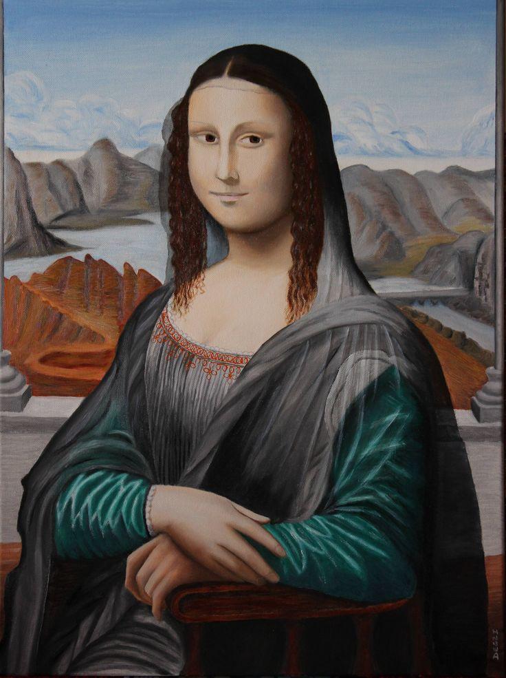 Mona Lisa, Oil on canvas