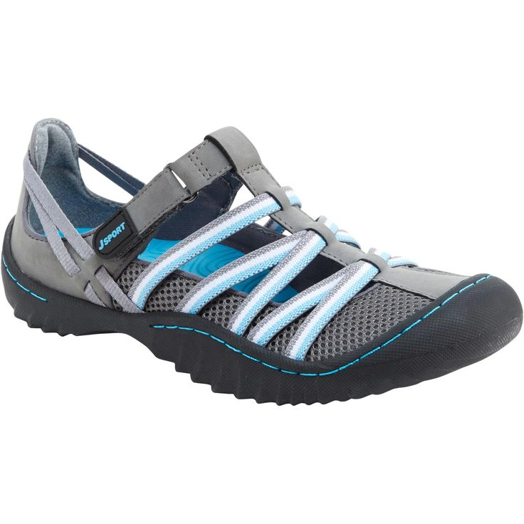 Thanks to cushiony memory foam footbeds and grippy outsoles, Jambu Jetty Encore Shoes support your every step!