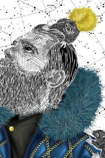 2 014 последний год Иллюстрация   Университет визуальной портфолио Вестминстера   BOF Карьера   Бизнес моды