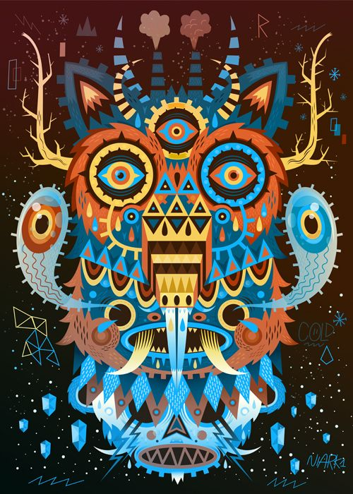 trippy monsters.: Business Cards, 3D Character, Sebastien Feraut, Owl, Graphics Design, Character Design, Amazing Tattoo, Digital Illustrations, Cards Templates