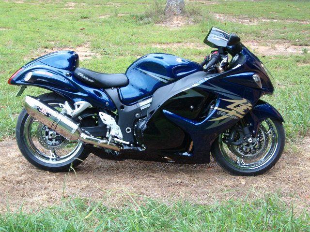 Chrome Blue Black Suzuki Hayabusa Www Pashnitbusa