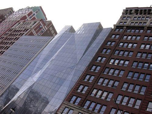 The Spertus Institute of Jewish Studies in Chicago, Illinois by Krueck + Sexton Architects. via archidose