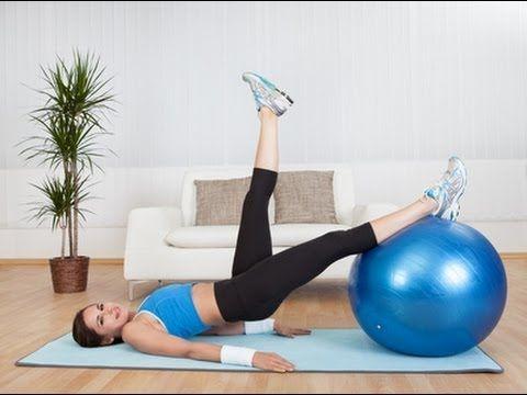 Cviky na zadok a stehna - Cviky na chudnutie 7 - VIDEO Ako sa to robí.sk