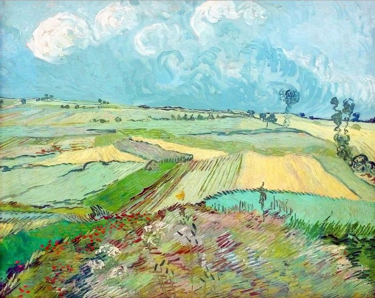 The Plain of Auvers ~ Vincent van Gogh