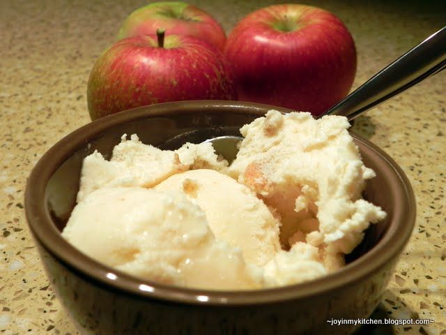 from @Finding Joy In My Kitchen: Apple Cinnamon Spice Ice Cream. This ...