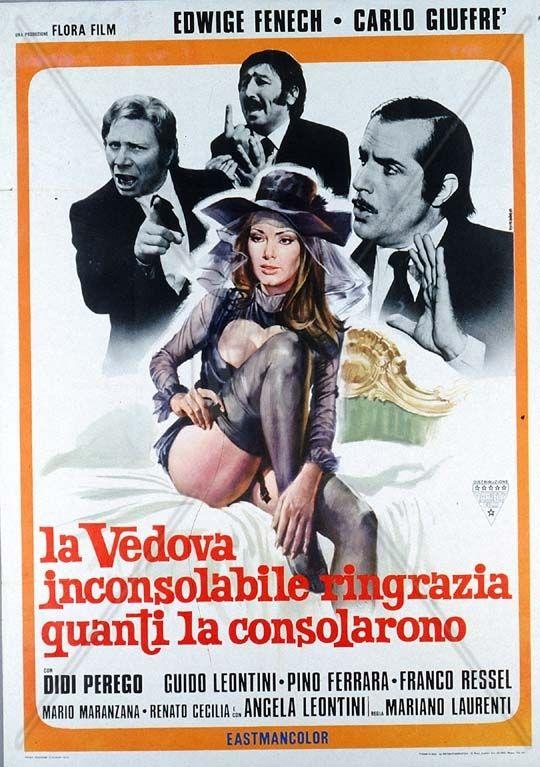 La vedova inconsolabile ringrazia quanti la consolarono de Mariano LAURENTI (1976)