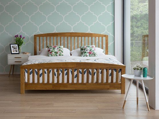 2 Persoonsbed 180x200.Bed Hout 2 Persoonsbed 180x200 Cm Houten Bed Met Lattenbodem
