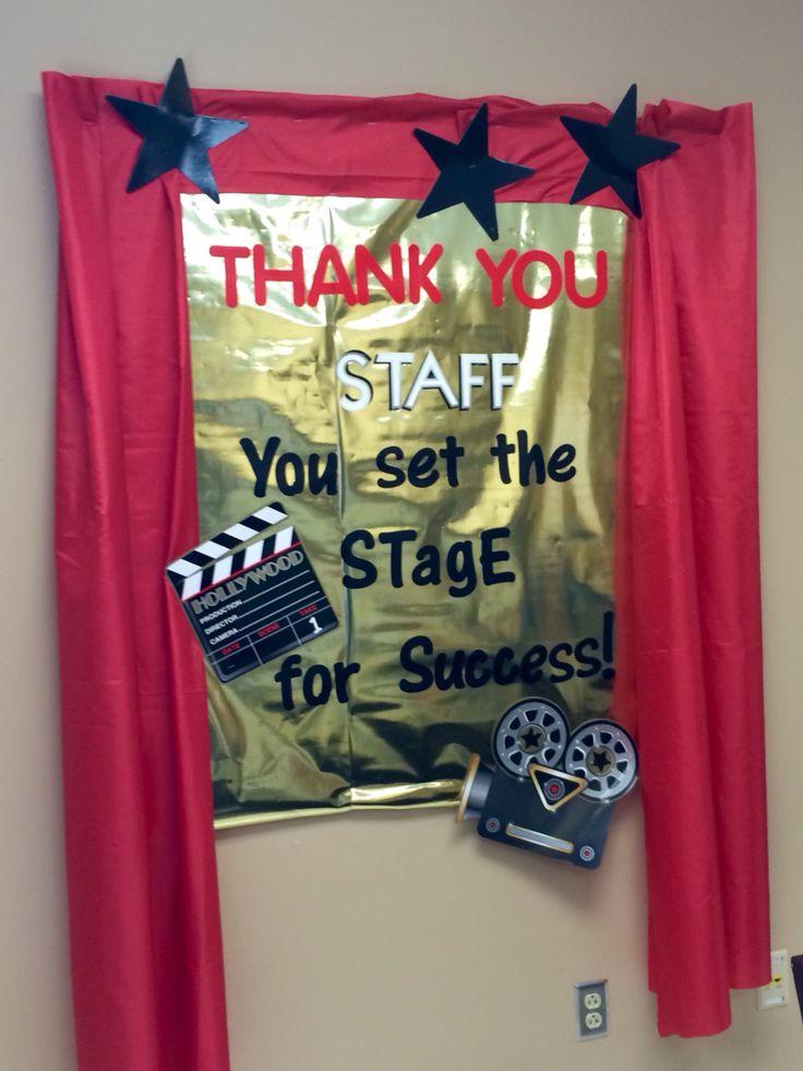 Award Winning Staff 2015  Bulletin Board in Teachers Lounge