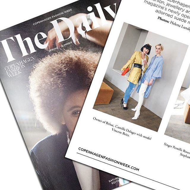 The Daily. #fashionweek #thedaily
