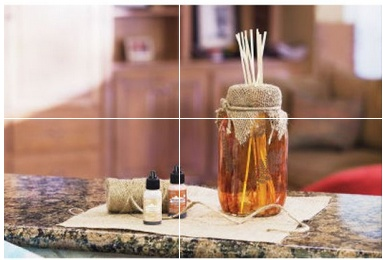 mason jar reed diffuser from Michaels
