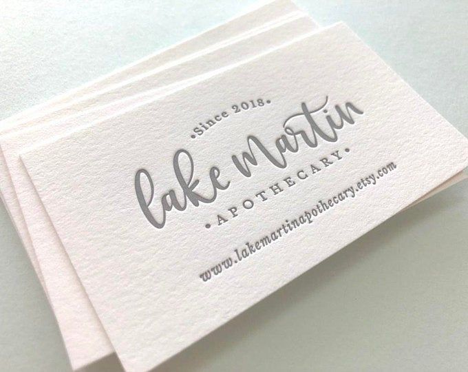 Business Card With Matte Gold