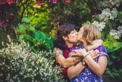 Malloreigh and Allie, by Anna Michalska Photography #adorablelesbiancouples #Sapphic #Nomad #lesbian #Love #Samelove #LGBT #GIrlsWhoLikeGirls #GirlsWhoKissGirls #LesbianLove #Gay #Cute #Kiss