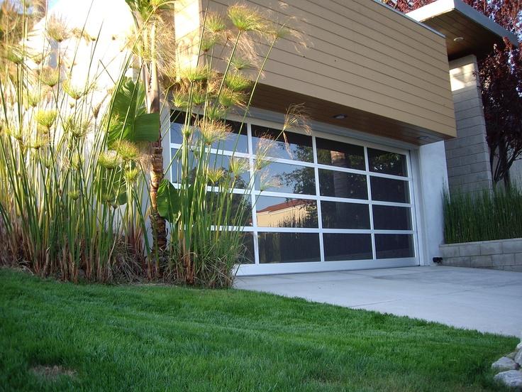 Dutchess Overhead Doors Anodized Plus Black Glass Garage