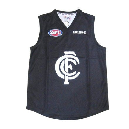 Carlton Blues Boys Youths Footy Jumper Guernsey. Price $ 49.95