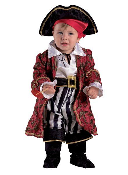 Baby Kostüm Luxus Pirat - Kleinkinderkostüm Baby Pirat