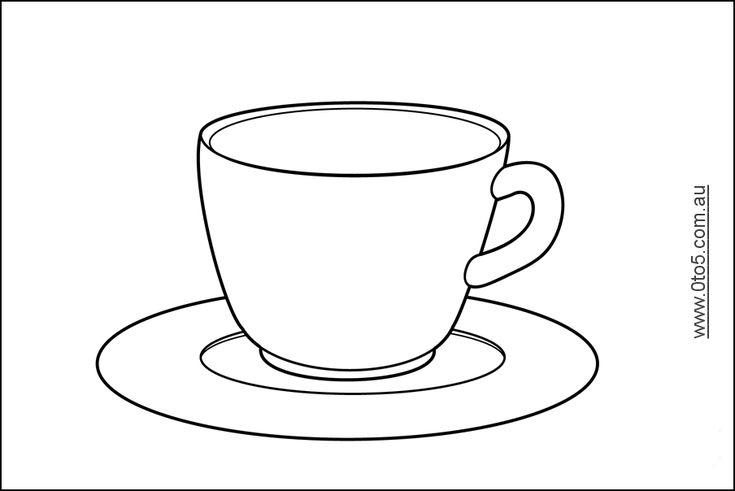 Teacup Printable for Paul Revere