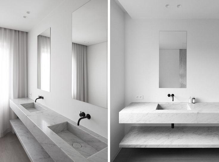 Bagno minimal ~ Questo bagno è stato realizzato con il colore umber ivory decoro