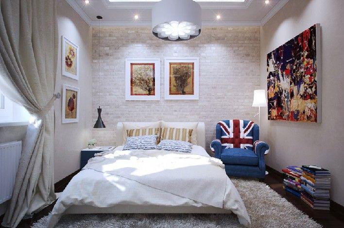 Projekty małych sypialni