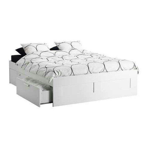 ikea storage bed queen