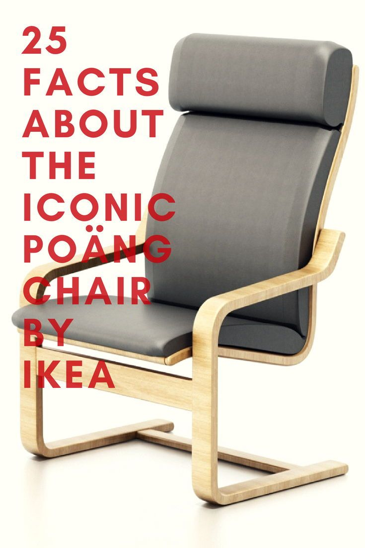 25 Facts about the Iconic POÄNG Chair by IKEA   Chair, Ikea