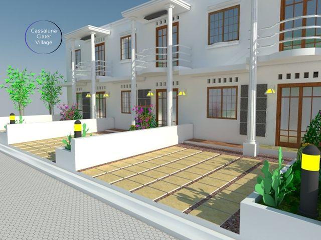 CASSALUNA CIATER VILLAGE         Cassaluna Ciater Village merupakan kawasan properti syariah yang terdiri dari hunian dua lantai konsep ...