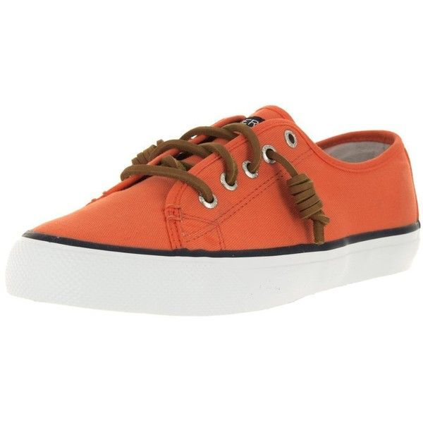 Sperry Top-Sider Women's Seacoast Fashion Sneaker ($30) ❤ liked on Polyvore featuring shoes, sneakers, sperry shoes, sperry sneakers, sperry, sperry footwear and nautical shoes