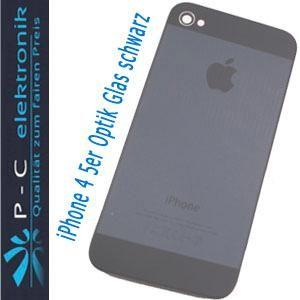iPhone 4 Akkudeckel DESIGN 5 OPTIK schwarz