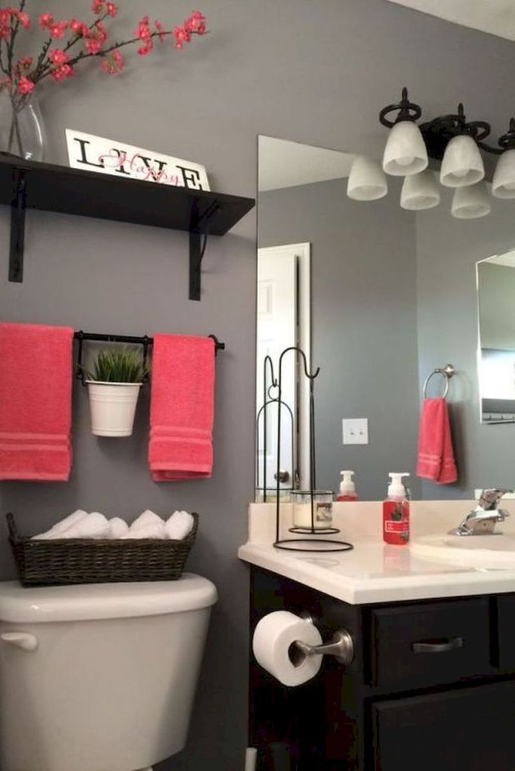 85 Tiny Apartment Bathroom Decoration Ideas