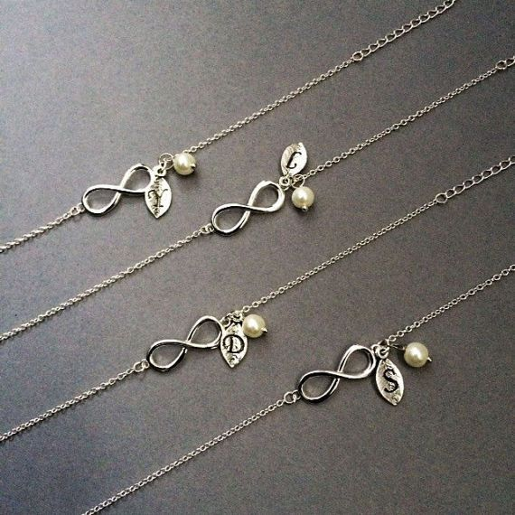 Infinity Bracelet Bridesmaid Bracelet Bridesmaid Gift