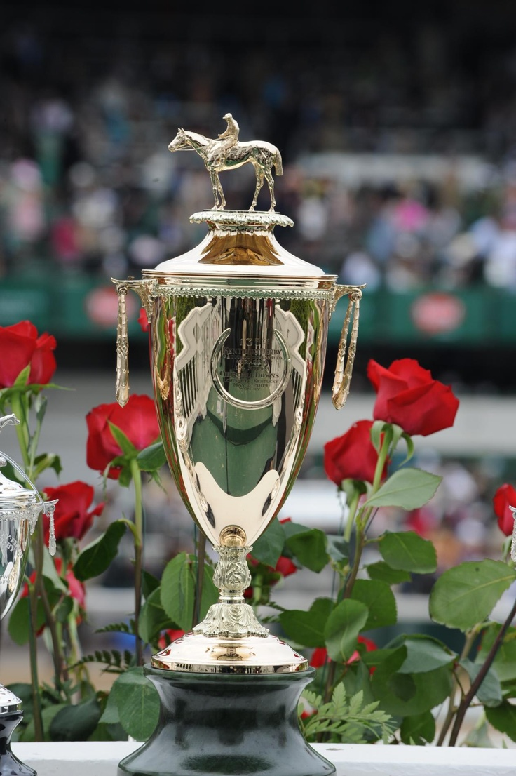 "Since the 50th running of the Kentucky Derby in 1924, Churchill Downs has annually presented a gold trophy to the winning owner of the famed ""Run for the Roses."""