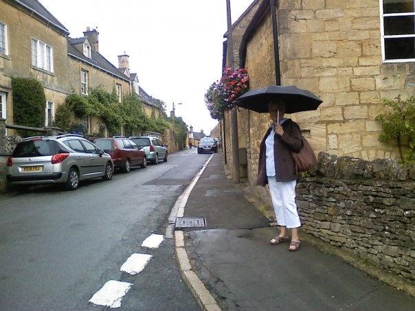 Mom in Blockley, England