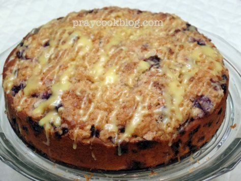 X Blueberry Coffee Cake