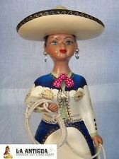 Original Mexican Ceramic Handpainted Najaco Lupita Doll