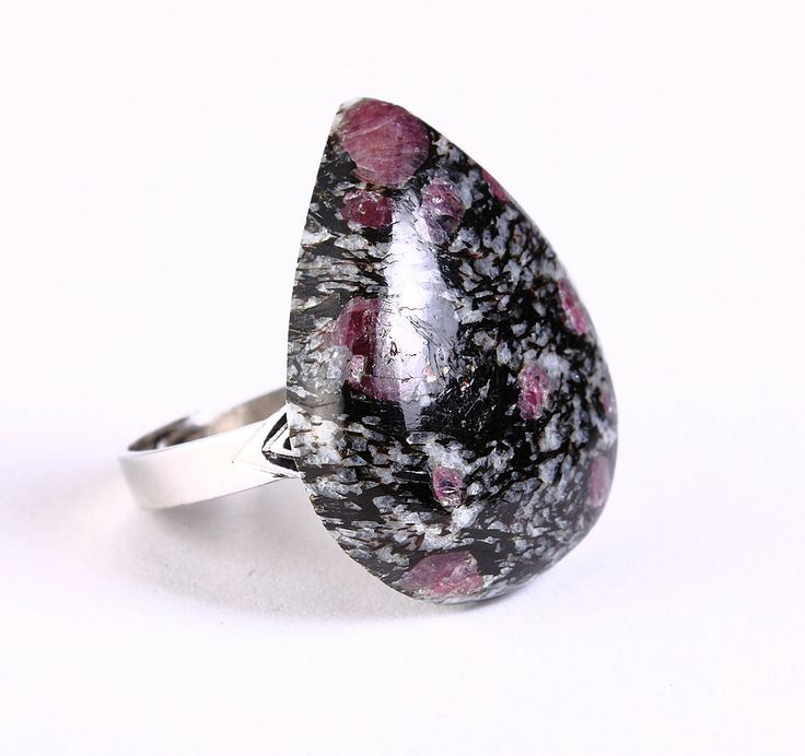 Khalliah Design - Unique natural Spinel in Matrix adjustable silver ring OOAK, $25.00 (http://www.khalliahdesign.com/unique-natural-spinel-in-matrix-adjustable-silver-ring-ooak/)