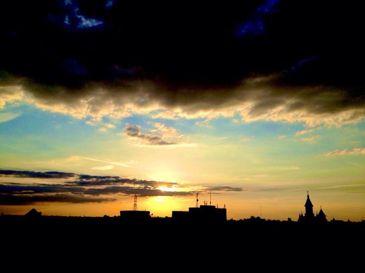 Going down | 5th floor sunset | Timisoara | Romania