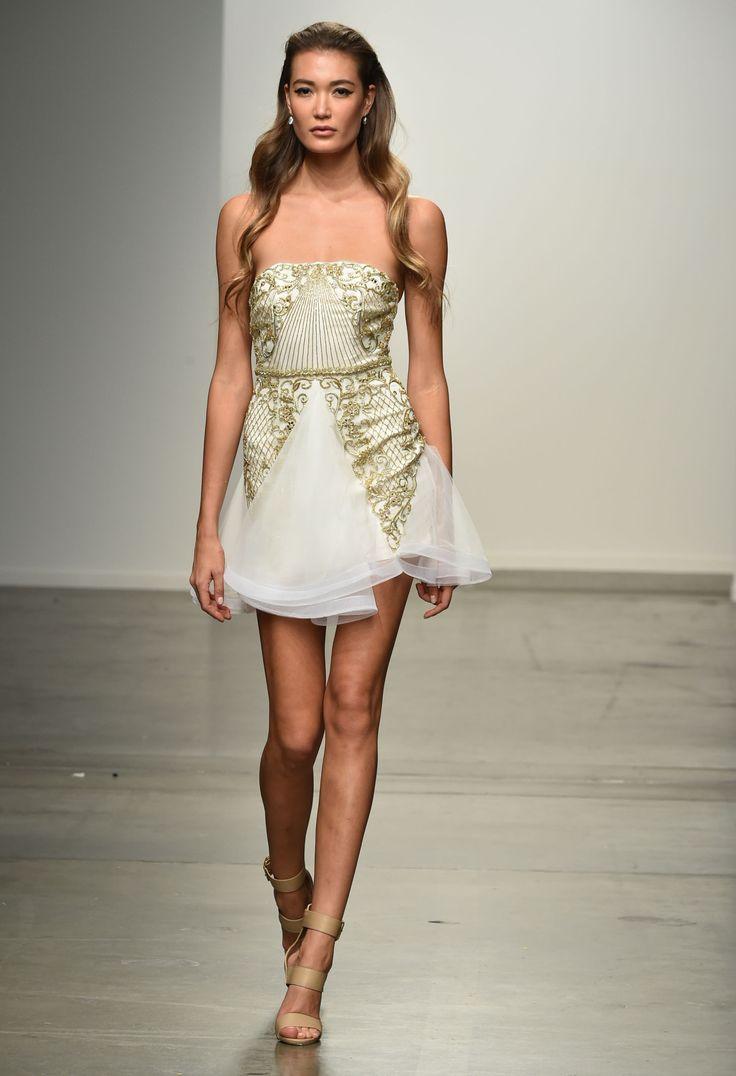 Philippa Galasso Spring/Summer 2015 New York Fashion Week runway