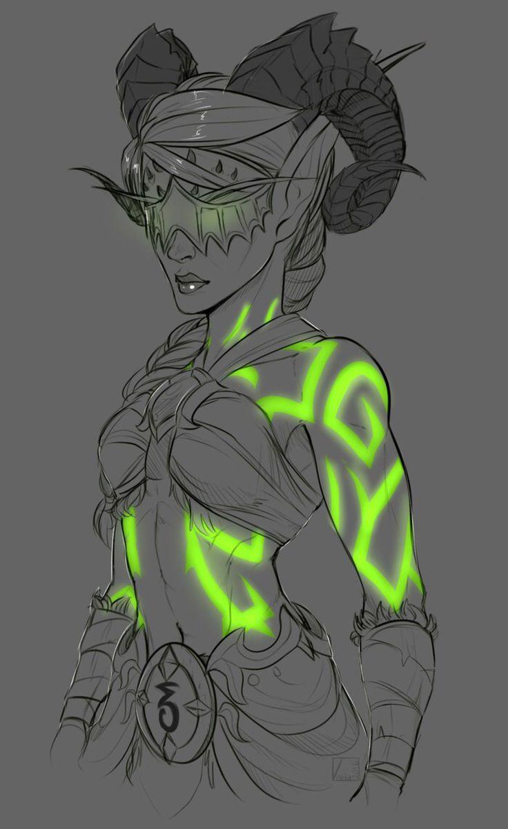 Commission: Demon Hunter by VlKTCR on @DeviantArt