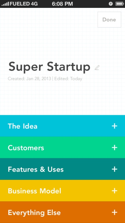 Elevatr Is A Mobile-First Tool For Startup Business Plan Creation | TechCrunch