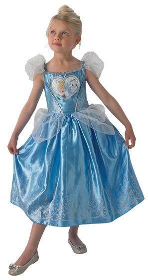 Cette robe de princesse sera parfaite pour incarner la jolie Cendrillon lors du Carnaval.