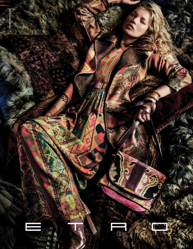 Kate Moss by Mario Testino for Etro Fall Winter 2015-2016 2